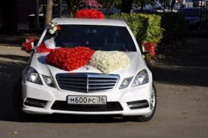 Машина на свадьбу Мерседес E класса