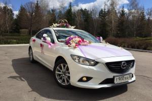Аренда белоснежных машин на свадьбу