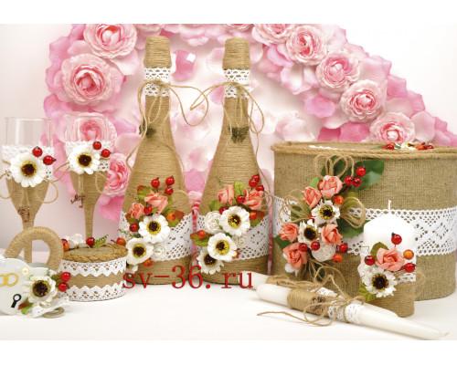 Набор свадебных аксессуаров  N-25