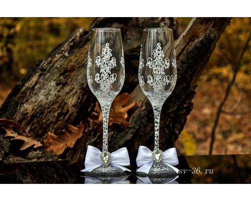 Свадебные бокалы F-6