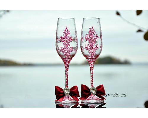 Свадебные бокалы F-4