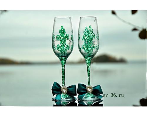 Свадебные бокалы F-9