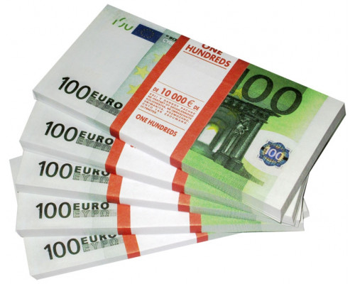 Шуточные деньги - 100 евро