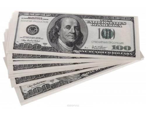 Шуточные деньги - 100 долларов