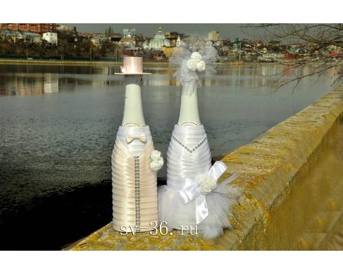 Украшение на шампанское У-2