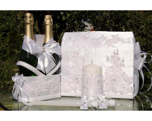 Набор свадебных аксессуаров  (5 предметов) N-1