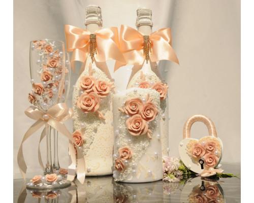 Набор свадебных аксессуаров (8 предметов) N-11